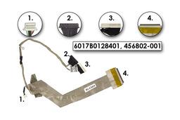 HP Compaq 6720, 6720s, laptophoz használt Kijelző kábel (6017B0128401)