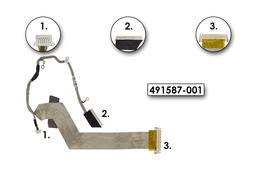 HP Compaq 6730S, 6735S laptophoz használt kijelző kábel (15 inch)XGA(491587-001)