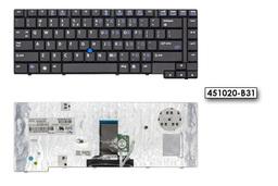 HP Compaq 8510p, 8510w gyári új US angol laptop billentyűzet  trackpointtal (452229-001)