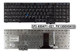 HP Compaq 8710p, 8710w használt US angol laptop billentyűzet SPS 450471-021