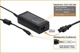 Compaq Presario 2200 18,5V 3,5A 65W-os laptop töltő