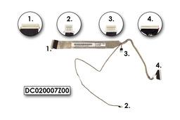 HP Compaq nc4000, nc4200, nc4400 laptop LCD kábel, DC020007Z00