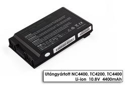 HP Compaq nc4200, nc4400, TC4200, TC4400 helyettesítő új 6 cellás laptop akku/akkumulátor (398681-001)