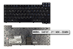 HP Compaq nc6000, nx5000, Compaq Presario V1000 használt magyar laptop billentyűzet (344390-211)