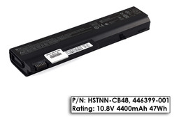 HP Compaq nc6100, nx6110, 6710b, 6910p gyári új laptop akku/akkumulátor  HSTNN-CB48, 446399-001