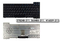 HP Compaq nc sorozat nc6320 fekete magyar laptop billentyűzet