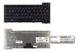 HP Compaq nc6110, nc6320, nx6110, nx6325 használt magyar laptop billentyűzet (SPS: 378248-211) - Akciós