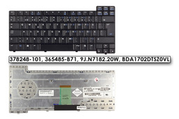 HP Compaq nc sorozat nc6320 fekete svéd/finn laptop billentyűzet