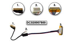 HP Compaq nc6400 laptop LCD kábel, DC020007B00
