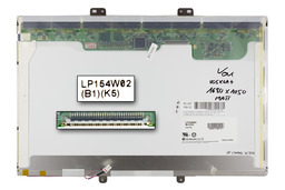 LG LP154W02-B1K5 használt matt 15,4 inch WSXGA+ kijelző HP Compaq nc8230 laptopokhoz