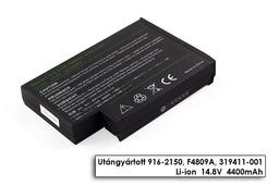 HP Compaq nx9000, OmniBook XE 4000, Pavilion ze4000 helyettesítő új 8 cellás laptop akku/akkumulátor (F4809A)