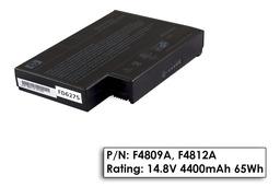 HP Compaq nx9000, Pavilion ze4000 használt 25%-os 8 cellás laptop akku/akkumulátor F4809A/F4812A