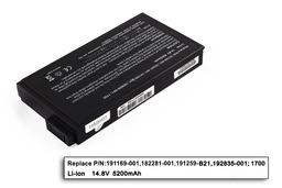 HP Compaq Presario 900, Evo n160, nc6000 helyettesítő új 8 cellás laptop akku/akkumulátor (191169-001)