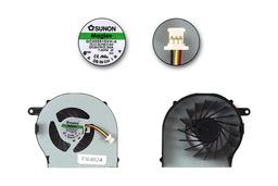 HP CQ72, G62, G72 gyári új laptop hűtő ventilátor (GC055515VH-A, 13.V1.BJ195.F.GN)