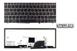 HP EliteBook 2170P gyári új, szürke, magyar, háttérvilágításos laptop billentyűzet (677599-211)