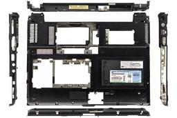 HP EliteBook 2530p használt laptop alsó fedél hangszóróval (439113-001)