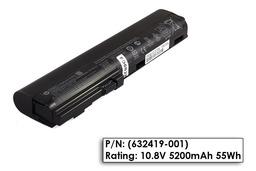 HP EliteBook 2560p, 2570p gyári új 6 cellás laptop akku/akkumulátor (632419-001)