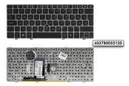 HP EliteBook 2560p, 2570p gyári új ezüst keretes magyar laptop billentyűzet trackpointtal (SPS 651390-211, 638512-211)