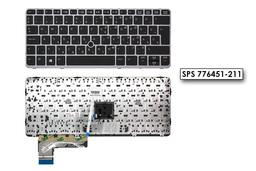 HP EliteBook 725 G2, 820 G2, 825 G2 gyári új magyar keretes laptop billentyűzet trackpointtal (776451-211)