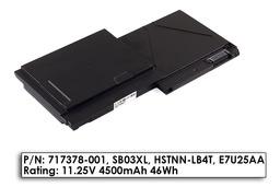 HP EliteBook 720, 725, 820 G1 gyári új 4 cellás laptop akku/akkumulátor  SB03XL, E7U25AA (717378-001)