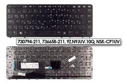 HP EliteBook 840, 850 használt magyar laptop billentyűzet, 730794-211