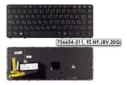 HP EliteBook 840 G1, 850 G1 gyári új magyar háttér-világításos laptop billentyűzet (736654-211)