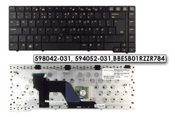 HP EliteBook 8440p, 8440w használt UK angol laptop billentyűzet (SPS 598042-031)