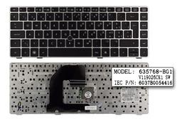 HP ProBook 6460b ezüst svájci laptop billentyűzet