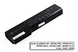 HP EliteBook 8460w, 8460p, 8560p gyári új 6 cellás laptop akku/akkumulátor  QK642AA (628670-001)