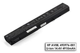 HP EliteBook 8530p, 8540p, 8730p gyári új 8 cellás laptop akku/akkumulátor (493976-001)