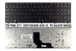 HP EliteBook 8560p, ProBook 6560b, 6565b gyári új magyar laptop billentyűzet (Win8) (701988-211)