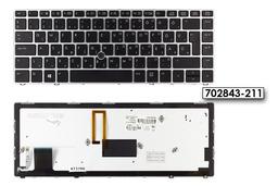 HP EliteBook Folio 9470M, 9480M gyári új magyar háttérvilágításos laptop billentyűzet, SPS: 702843-211, 785648-211