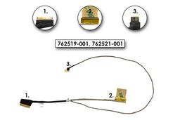 HP Envy 15-k, Pavilion 15-p gyári új laptop LCD kijelző kábel (HD , touchscreent nem támogat) (762519-001, 762521-001)