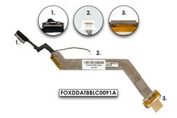 HP G6000 Compaq Presario F500, F700, V6000 gyári új LCD kábel (FOXDDAT8BLC0091A)