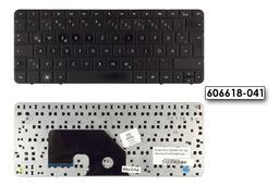 HP Mini 110-3000, 110-3100 használt német fekete laptop billentyűzet (606618-041)