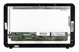 HP Mini 210 használt fekete LCD keret KIJELZŐVEL, front bezel WITH LCD (934440550730)