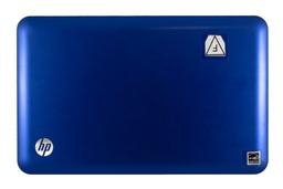 HP Mini 210 használt kék LCD hátlap, LCD back cover (593488-001)