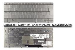 HP Mini 2133, 2140 gyári új portugál ezüst laptop billentyűzet (482280-131)