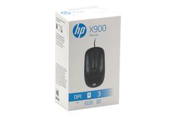 HP Mouse X900 fekete 1000 dpi-s vezetékes optikai egér (V1S46AA)