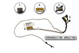 HP Pavilion 14-N0, 14-N2 laptophoz használt LCD kijelző kábel (14'') (DD0U83LC100)