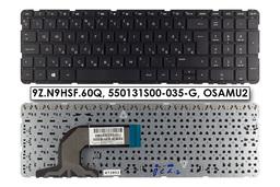 HP Pavilion 15-e, 15-n, Touchsmart 15-n gyári új magyar fekete laptop billentyűzet, (9Z.N9HSF.60Q)