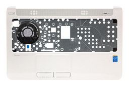 HP Pavilion 15-N0, 15-N1, 15-N2 sorozatú laptophoz használt fehér felső fedél touchpaddal (EAU860010A0)