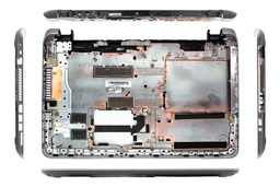 HP Pavilion 15-N000, 15-N200, 15T-N100, 15T-N200 sorozathoz gyári új laptop alsó fedél (732065-001, 743615-001)