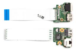 HP Pavilion 17-E0, 17-E1 használt laptop USB/RJ-45 panel kábellel (720674-001)
