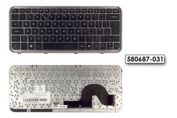 HP Pavilion DM3 használt UK angol laptop billentyűzet (580687-031)