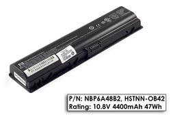 HP Pavilion dv2000, dv6000, Compaq Presario C700 használt 6 cellás 60%-os laptop akku/akkumulátor (HSTNN-OB42)