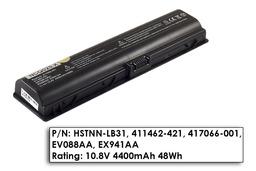 HP Pavilion dv2000, dv6000 helyettesítő használt 90%-os 6 cellás laptop akku/akkumulátor (HSTNN-LB31)