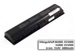 HP Pavilion dv2000, dv6000 helyettesítő új 6 cellás laptop akku/akkumulátor (HSTNN-IB31)