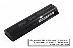 HP Pavilion DV5 sorozat laptop akkumulátor, új, gyárival megegyező minőségű helyettesítő, 6 cellás (4400mAh)