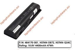 HP Pavilion DV4, DV5, DV6 használt 80%-os gyári laptop akku/akkumulátor (HSTNN-Q34C, 484171-001)